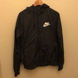 Nike Black Windbreaker SIZE M